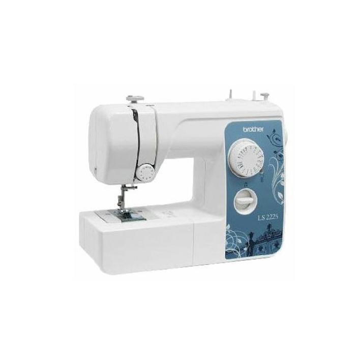 Швейная машина Brother LS 2225s, 50 Вт, 14 операций, полуавтомат, белый