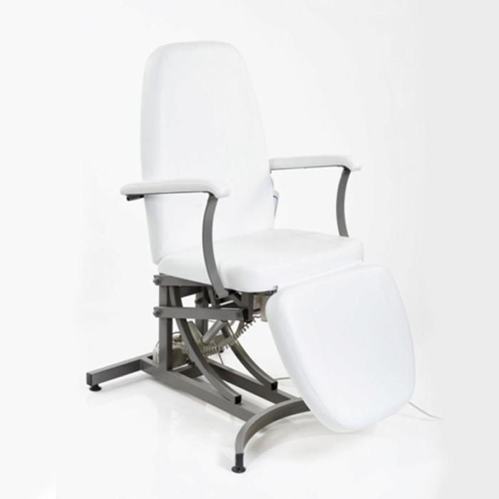 Кресло косметологическое Электра 3 электромотора, цвет белый