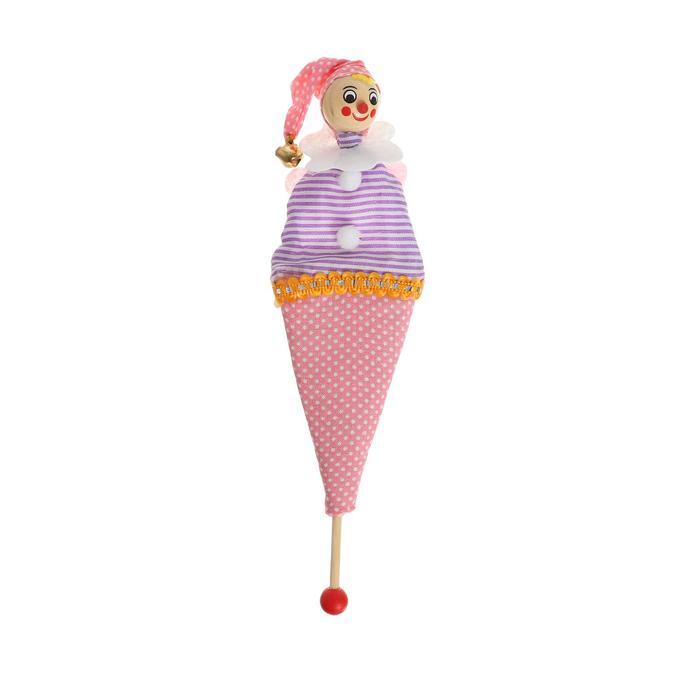 Кукла на палочке, 21х6х1,5 см