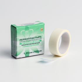 Лейкопластырь 'LEIKO' на нетканой основе, гипоаллергенный 1,25см х 500см Ош