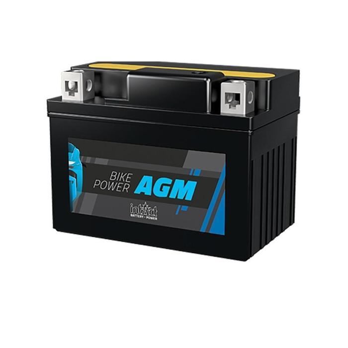 Аккумулятор intAct IA YT12B-BS, AGM, 12В, 10Ач, пуск ток 130 А, прямая (+ -)