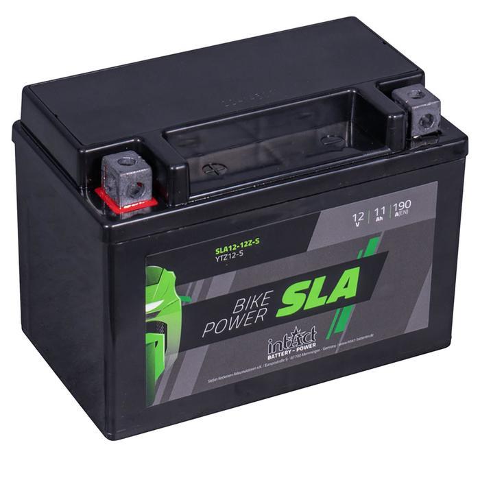 Аккумулятор intAct IS YTZ12-S, SLA, 12В, 11Ач, пуск ток 190 А, прямая (+ -)