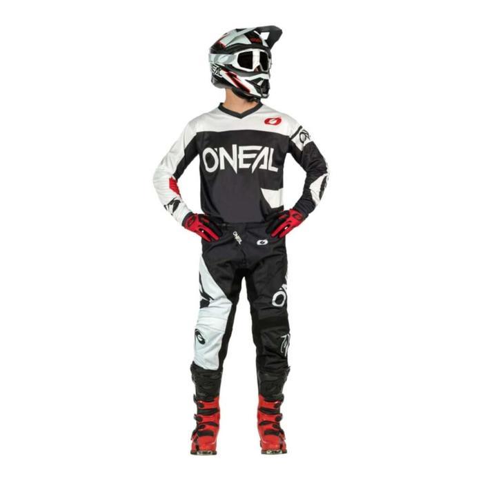 Джерси O'NEAL Element Racewear 21, мужской, размер L, цвет белый/черный