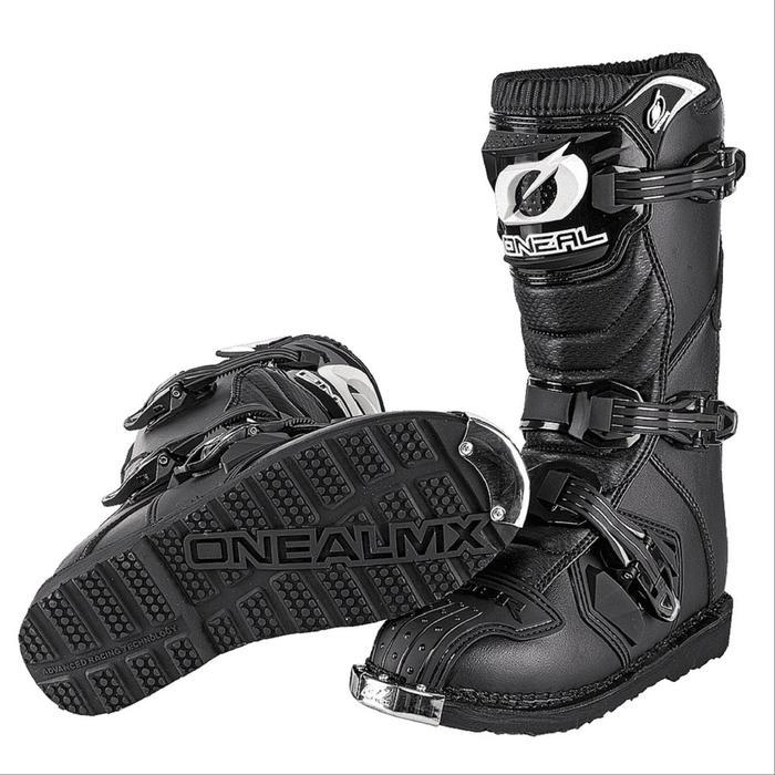 Мотоботы кроссовые, детские, унисекс O'NEAL Rider youth, размер 34, цвет черный