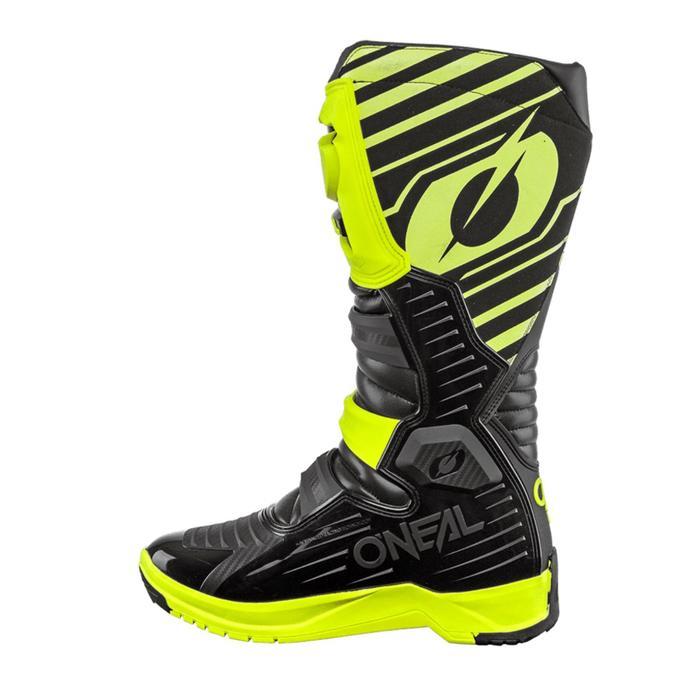 Мотоботы кроссовые, мужские O'NEAL RMX, размер 45, цвет желтый/черный