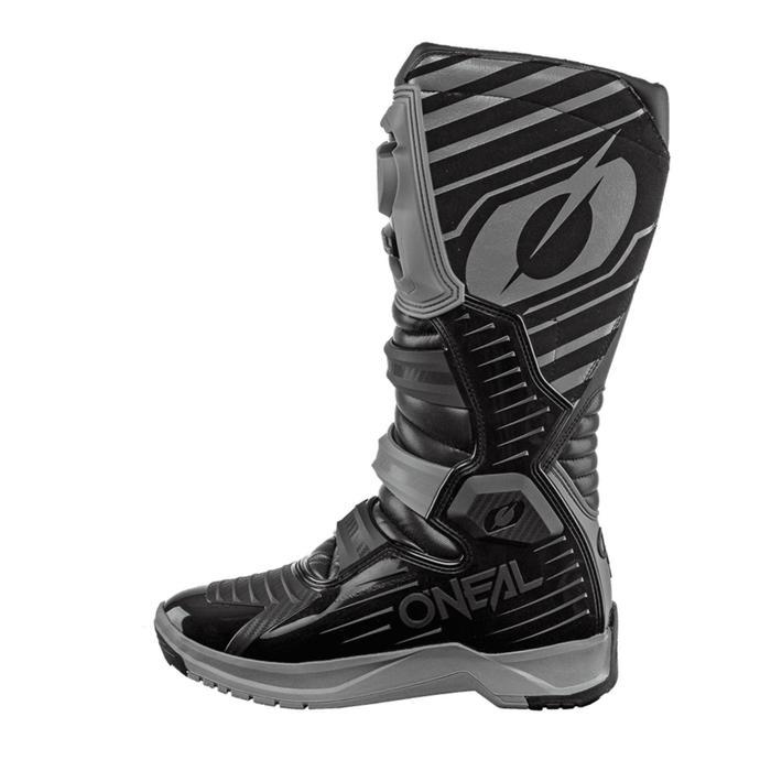 Мотоботы кроссовые, мужские O'NEAL RMX, размер 45, цвет серый/черный