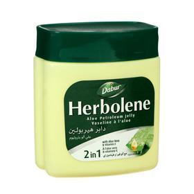 Вазелин для кожи Dabur Herboline алоэ вера и витамин Е, увлажняющий, 115 мл