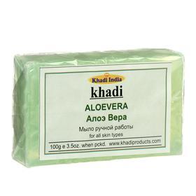 Мыло ручной работы Khadi алоэ вера, 100  г