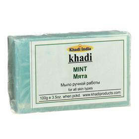 Мыло ручной работы Khadi мята, 100 г