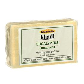 Мыло ручной работы Khadi эвкалипт, 100 г