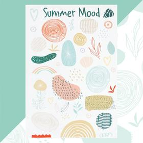 Полотенце пляжное Этель Summer mood 96х146 см, 100% хлопок