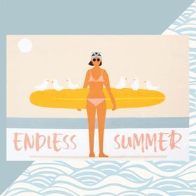 Полотенце пляжное Этель Endless summer 96х146 см, 100% хлопок