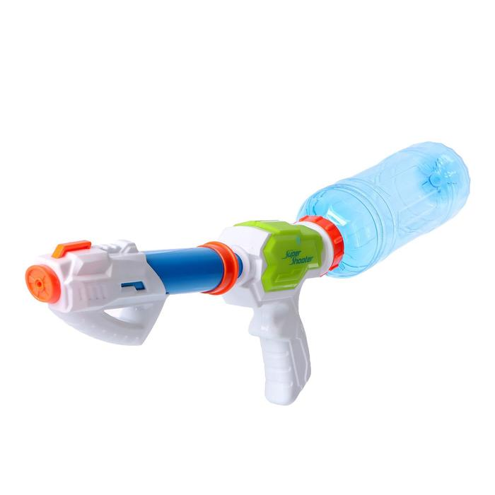 Водный пистолет Кибер, надевается на пластиковую бутылку