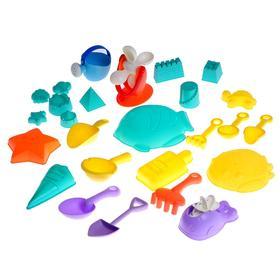 Песочный набор «Пляжный рай», 26 предметов