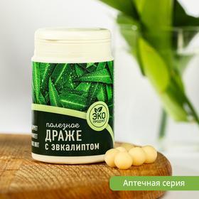 Полезное драже «Доброе здоровье», вкус: эвкалипт, 60 г.