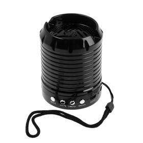 Портативная колонка WS-888, 3 Вт, Bluetooth/AUX/TF, 520 мАч, чёрная Ош