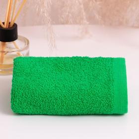 Полотенце махровое ГК 30х50 см, 06-045, зеленый, хлопок 100%, 360г/м2