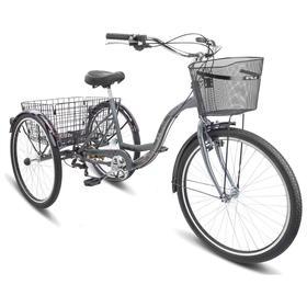 Велосипед 26' Stels Energy-VI, V010, цвет хром, размер 17' Ош