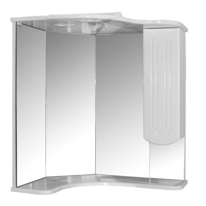 """Зеркало-шкаф """"MIXLINE Корнер"""" 46х63х70см"""