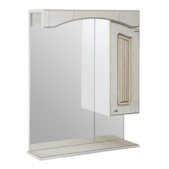 "Зеркало-шкаф ""MIXLINE Крит-60"" 17х60х80см"