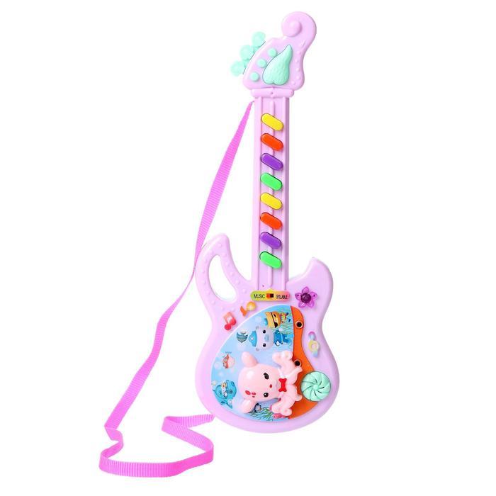 Музыкальная игрушка Гитара Мелодия, МИКС