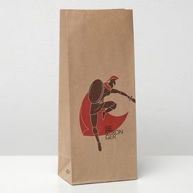 Пакет бумажный фасовочный, 'Дуэль спартанцев', 12 х 8 х 29 см Ош