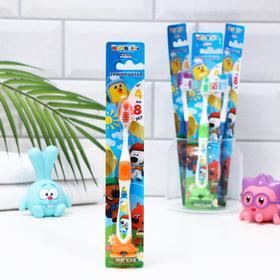 Зубная щётка детская Bambolina МиМиМишки мягка, 4-8 лет Ош
