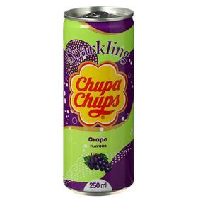Напиток газированный Chupa Chups виноград, 250 мл