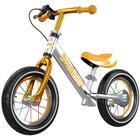 Беговел 12' Small Rider Foot Racer 3 AIR, цвет серебро-бронзовый