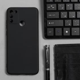 Чехол Innovation, для Honor 9A, силиконовый, матовый, черный