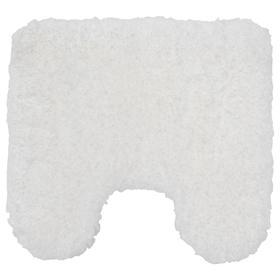 Коврик в туалет АЛЬМТЬЕРН, 55x60 см, цвет белый