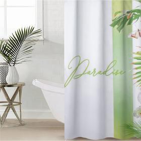 Штора для ванной комнаты Paradise, 145×180 см, оксфорд