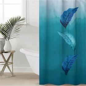 Штора для ванной комнаты «Безмятежность», 145×180 см, оксфорд