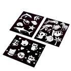 Набор трафаретов для рисования в темноте, «Зверята», 3 штуки - Фото 3
