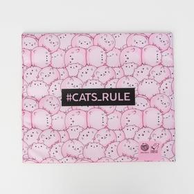 Текстильный матрасик 40х34 см Cats rule Ош