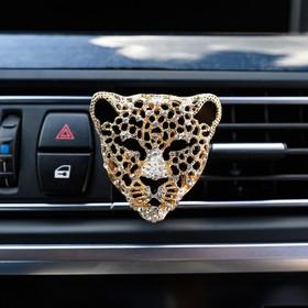 Украшение в дефлектор автомобиля 'Леопард' Ош