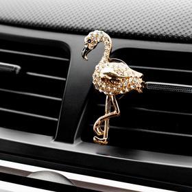 Украшение в дефлектор автомобиля 'Фламинго' Ош