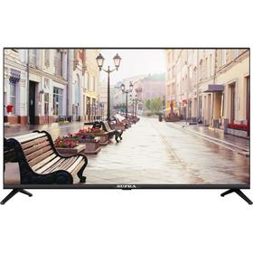 "Телевизор Supra STV-LC43LT00100F, 43"", 1080р, DVB-T/T2/C, 3 HDMI, 2 USB, черный"