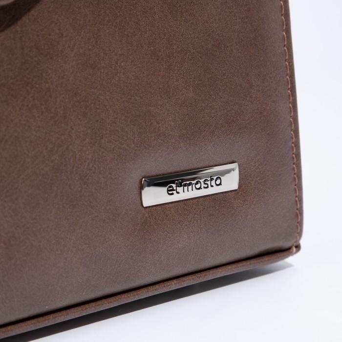 Мессенджеры, отдел на клапане, наружный карман, регулируемый ремень, цвет светло-коричневый