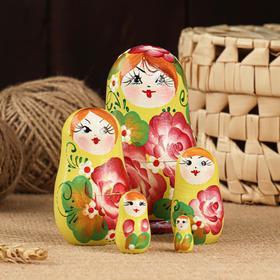 """Матрёшка 5-ти кукольная """"Вера"""" акрил, 10-11 см, ручная роспись"""