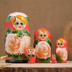 """Матрёшка 5-ти кукольная """"Кристи"""" , 10-11 см, ручная роспись"""