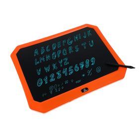 Планшет для рисования и заметок LuazON, 17', функция блокировки, оранжевый Ош
