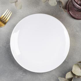 Тарелка «Селина», 18,2×1,8 см, цвет белый