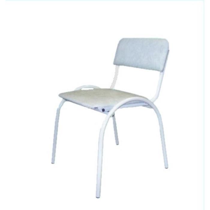 Стул Форма К, цвет белый ГхШхВ 56х47х82