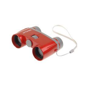 Детский бинокль Veber Эврика, 3 × 28R, цвет красный Ош
