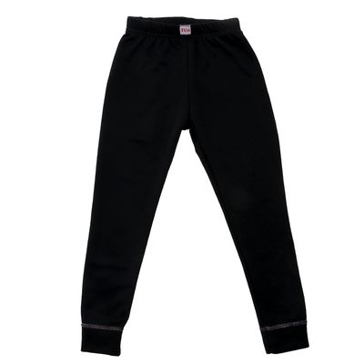 Леггинсы для девочки, рост 104-110 см (30), цвет черный А80DS - Фото 1