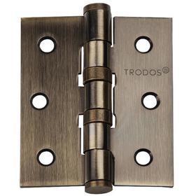 Петля TRODOS 75х62х2,5 б/к , цвет бронза