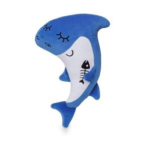 Мягкая игрушка «Акуленок» 34 см