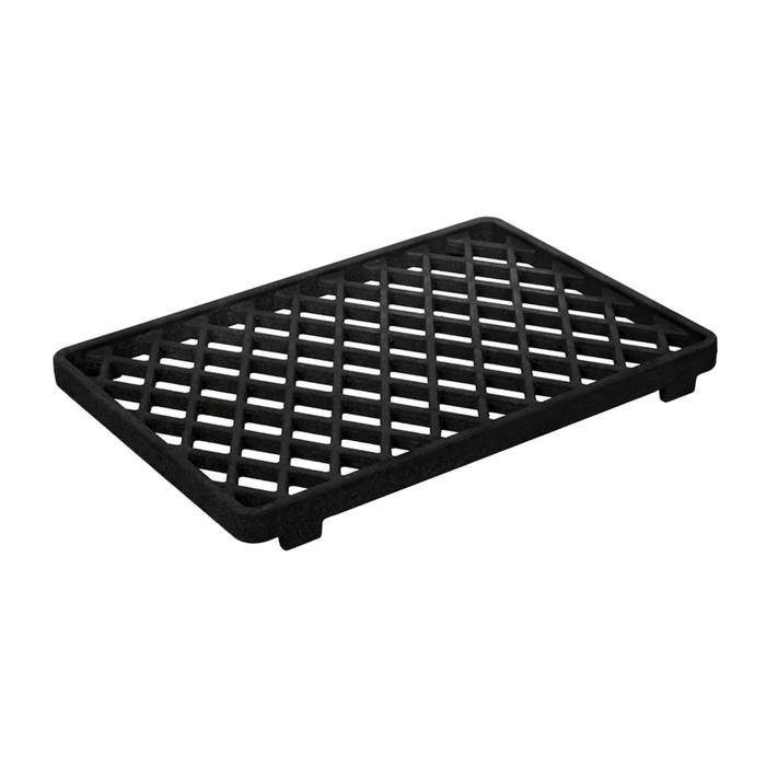 Решетка-гриль чугунная для мангала BOYSCOUT, 255х375х33 мм