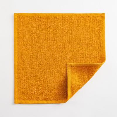 Полотенце махровое Экономь и Я 30х30 см, цв. горчичный, 100% хл, 260 гр/м2 - Фото 1